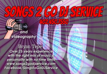 Songs Business Card